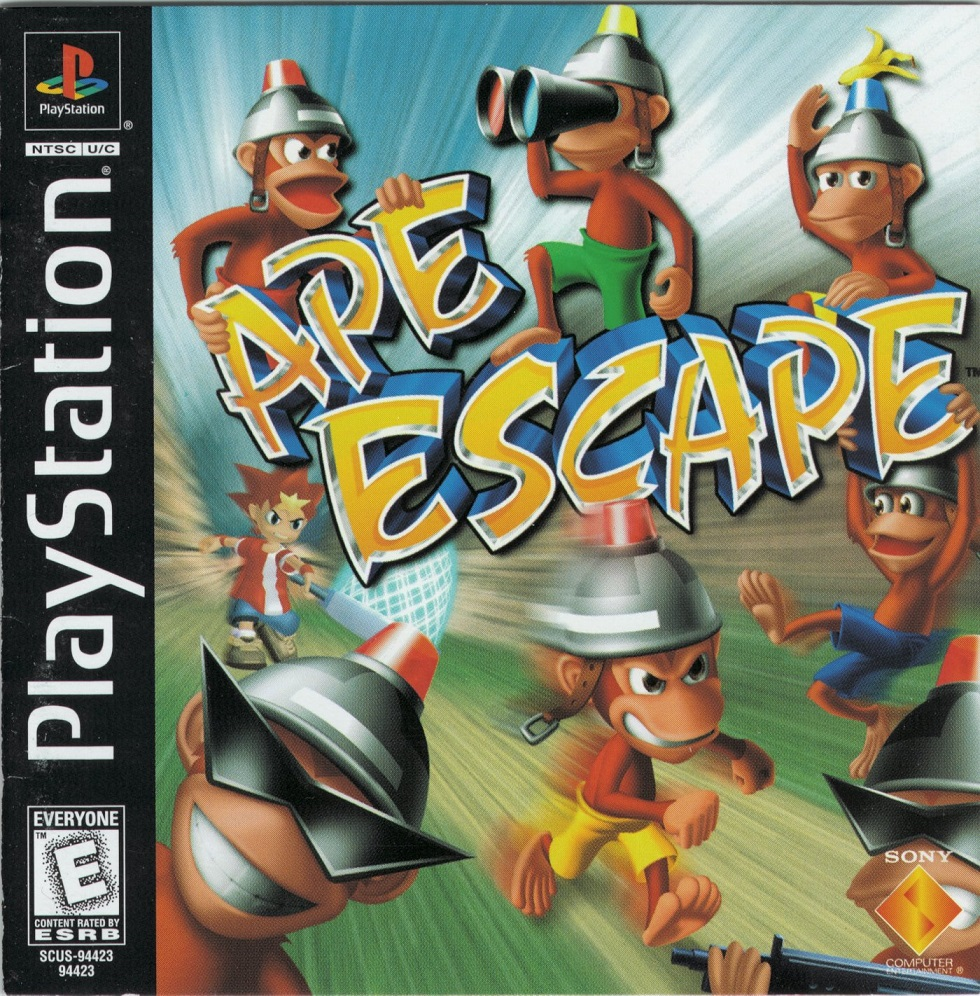Ape Escape U ISO